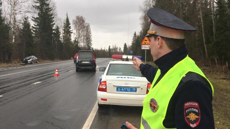 ДТП 26.04.2018 на 426 км автодороги Вологда-Новая Ладога