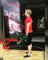 Pashkov Team on Instagram Строгий подъём на бицепс 40 кг от @elenarezvanova3746