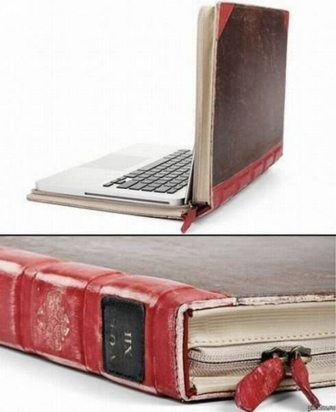 Чехол для ноутбука в виде Книги.