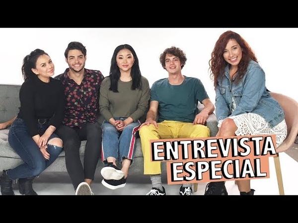 """Entrevistei o elenco de """"Para Todos os Garotos que Já Amei"""""""