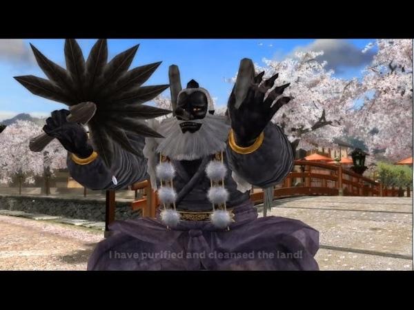 DOA4: Tengu Intro, Victory, and Defeat Quotes