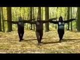 Калмыцкий танец должны танцевать все, т.к. это могут даже обезьяны)