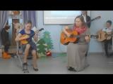 ВидеоМИГ -Лучики. Пасхальный концерт. Эпанаева И.В. и Таисия. Шуточный танец.