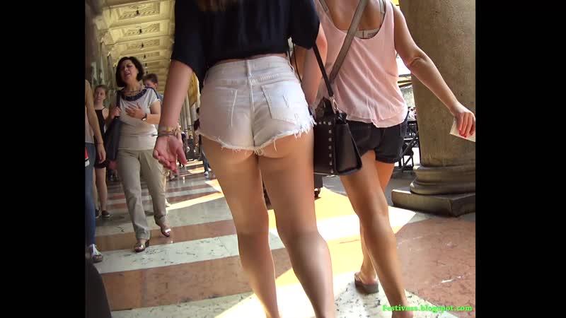 Cheeky shorts teen
