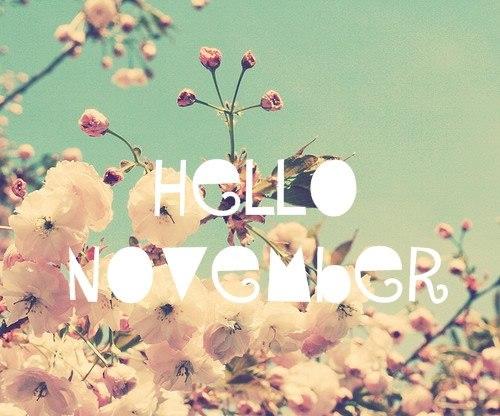 Привет Ноябрь!!! А в моём доме ноябрь бродит....