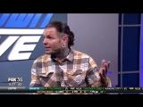 WWE Wrestler Jeff Hardy visits the Fox 35 Studio
