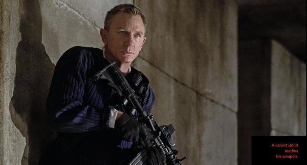 Новые кадры шпионского боевика «007: Не время умирать»