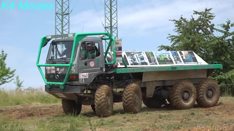 8x8 Mercedes-Benz Truck in Truck Trial _ Straz Pod Ralskem 2018 _ Participant no. 501 503