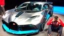Пригласили в BUGATTI Divo 1500 л с за 420 МЛН РУБ Обзор уникального суперкара с W16 8 0