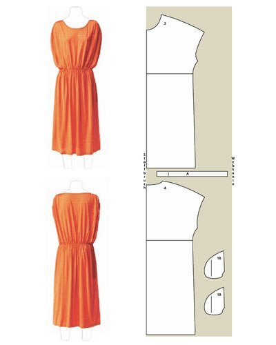 Платья с выкройками.