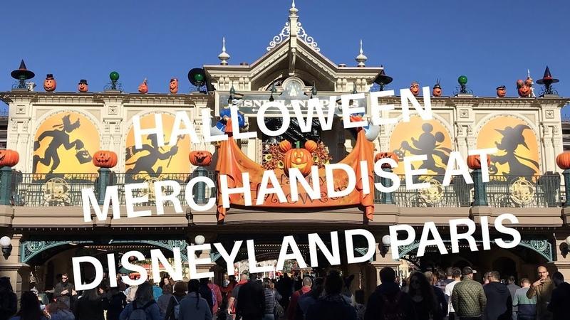 Disneyland Paris Halloween Merchandise with prices