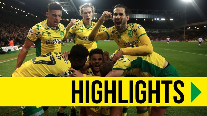 HIGHLIGHTS Norwich City 3-2 Bolton Wanderers
