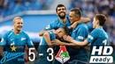 Zenit St. vs Lokomotiv Moscow 5–3 All Goals Highlights 23/09/2018 HD