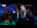 Manuela Camacho hace acrobacias con los Hermanos Medel en el circo del Chino