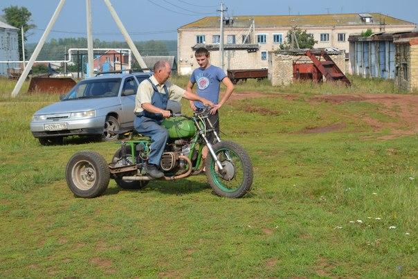 Сделать трицикл своими руками из урала фото 246