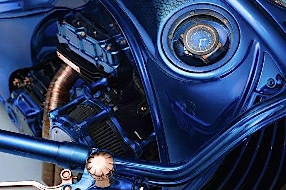 Harley-Davidson Bucherer Blue Edition - самый дорогой кастом