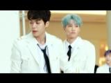 The UNIT - Top 9 B &amp G - Mini Live - Jun Focus (Time Square Yongdeungpo 11.02.18)