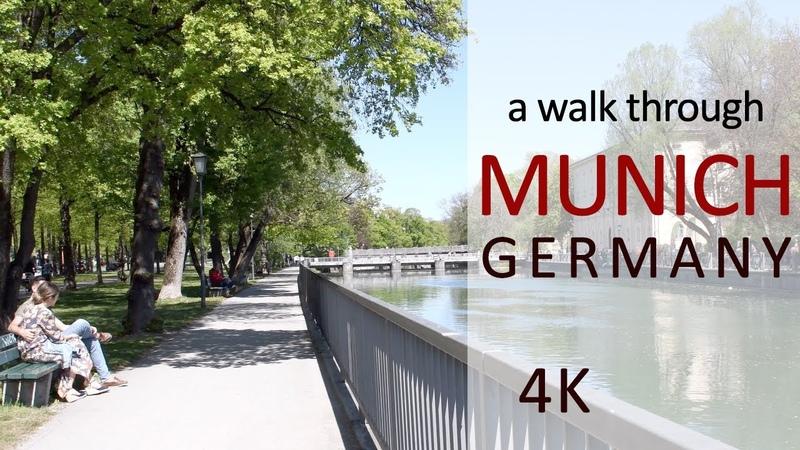 A walk through Munich, Germany. Прогулка по Мюнхену, Германия. Что посмотреть в Мюнхене?