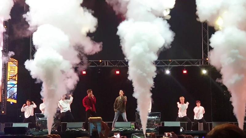 181208 Maya Music Festival 2018 in BKK - OPPA Super Junior DE and Ryeowook
