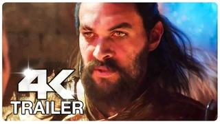 AQUAMAN Trailer (4K ULTRA HD) NEW 2018