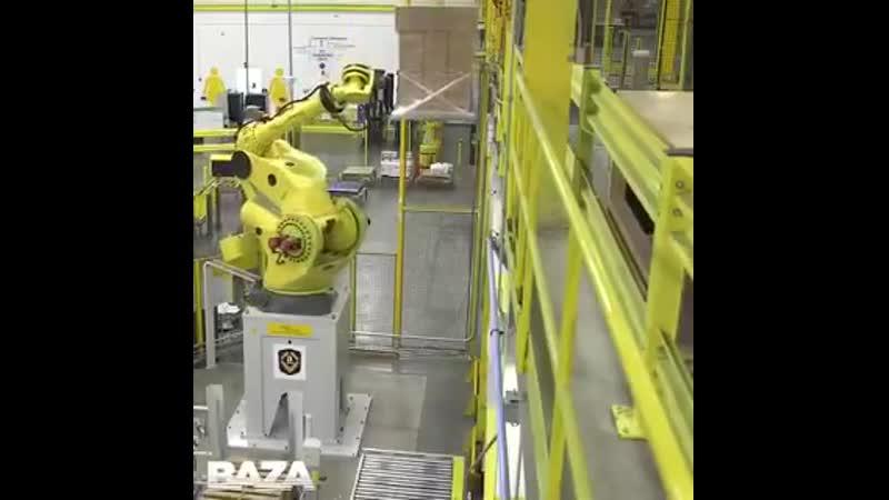 Baza На почтовых складах Amazon уже давно трудятся роботы. В Белгороде Почта России решила перенять западные ценности. И ра