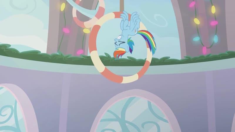 My Little Pony Best Gift Ever, 3-я мини-серия Triple Pony Dare Ya [китайская озвучка][русские субтитры]