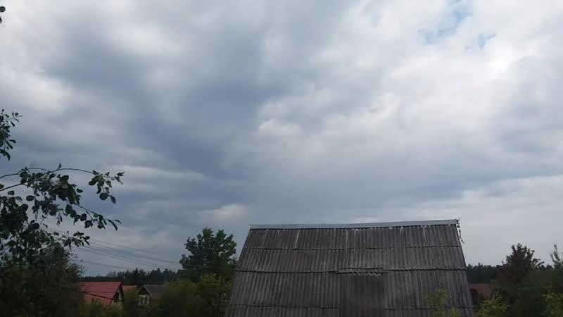 30 августа 2018 Кучево-слоисто-волнообразная(волнистая?) облачность