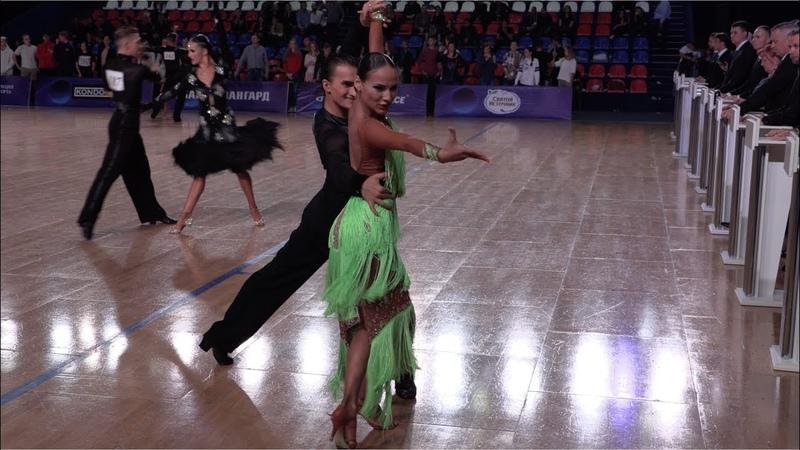 Nikolay Kogut - Anastasia Rybolova RUS, Samba | WDSF Open Under 21 Latin