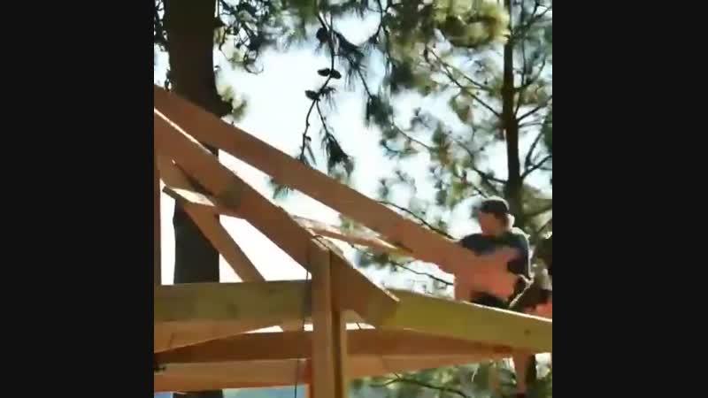 Домик на дереве - Проект « Дача »