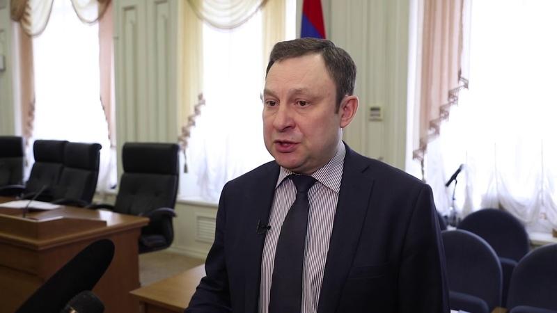Олег Скобелкин Впервые нам федерация помогает такими средствами на создание комфортных