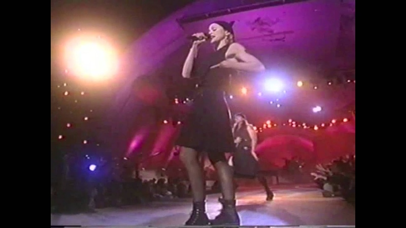 Madonna and Anthony Kiedis - The Lady is a tramp