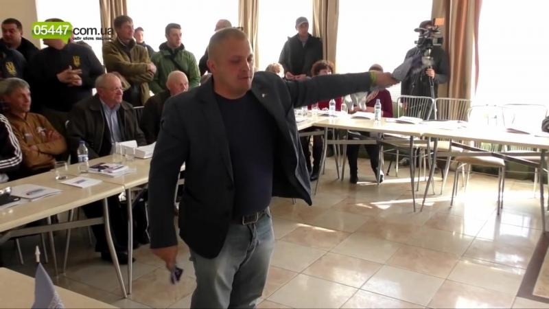 Мер Конотопа Артем Семеніхін розігнав шабаш сепаратистів!