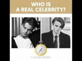 Who is a real celebrity?