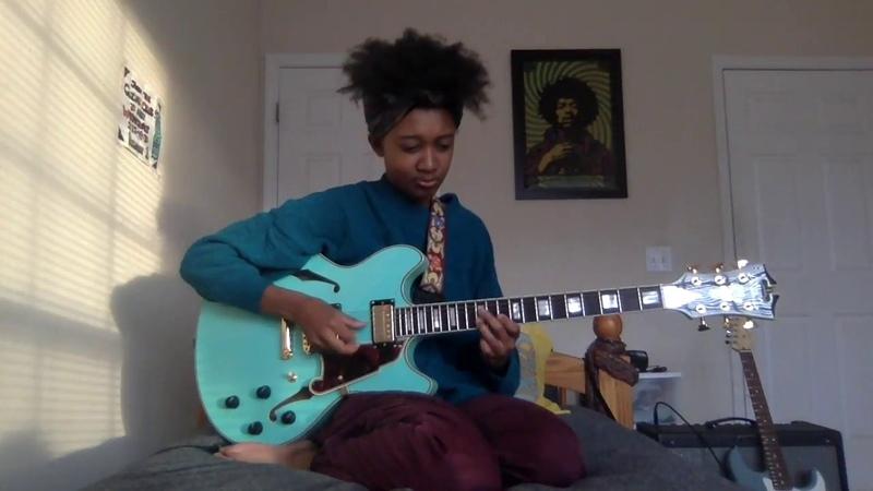 Brockhampton - WASTE (Melanie Faye Guitar Cover) [HD re-upload]