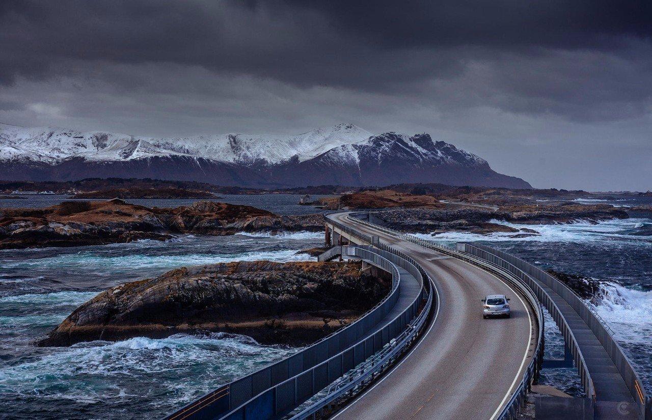 дорога лед Норвегия без смс