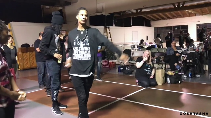 Larry/Les Twins Freestyle (PERFECT AUDIO) to Changed it by Nicki Minaj and Lil Wayne