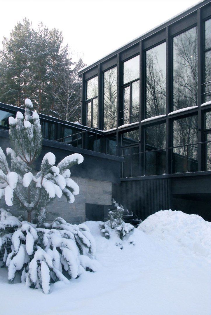 FAS(t) Architects Architects Design a Guest Home in Moscow, Russia