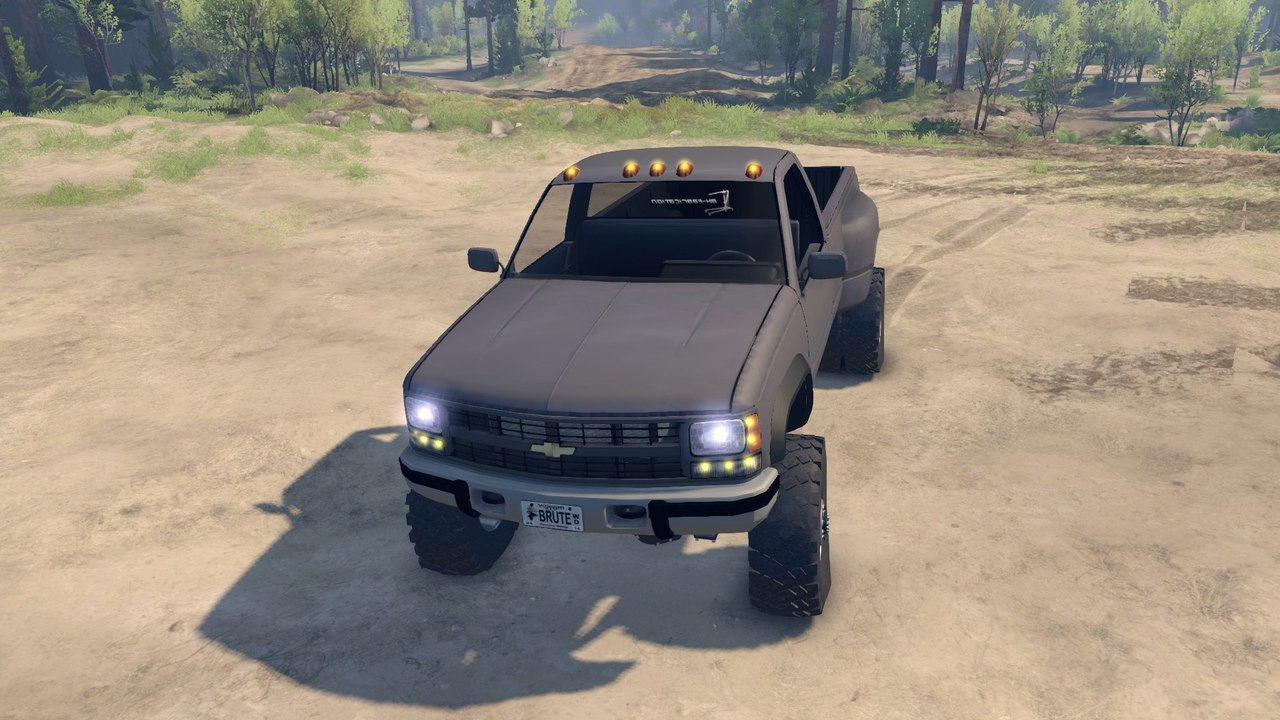 95 Chevy Regular Cab Dually v1.0 для Spintires - Скриншот 1