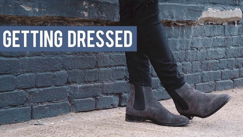 Men's Chelsea Boot Outfit Inspiration | Getting Dressed (Outfits Step by Step 18)