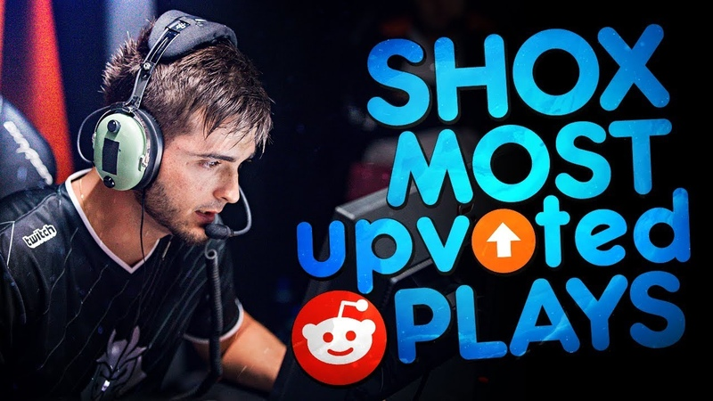 CS:GO - SHOX 'S MOST UPVOTED REDDIT PLAYS OF ALL TIME! (INSANE CLUTCHES SMART PLAYS)
