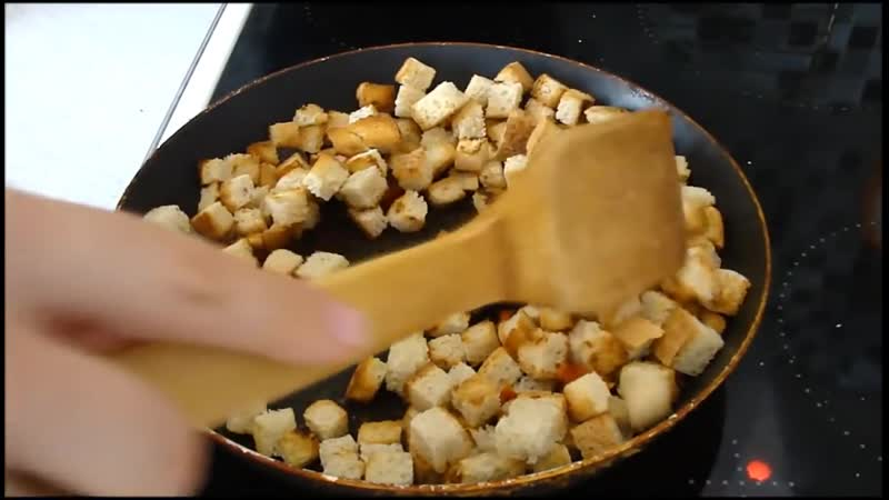 [Простые и вкусные рецепты !] Домашние сухарики с чесноком и специями - вкусно и просто