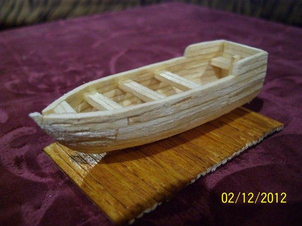 Как сделать из спичек лодку без клея - Russkij-Litra.ru