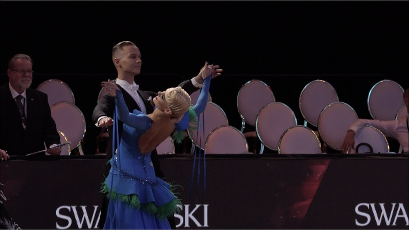 Evaldas Sodeika - Ieva Zukauskaite LTU, English Waltz | ROC 2018 WDSF GrandSlam Standard