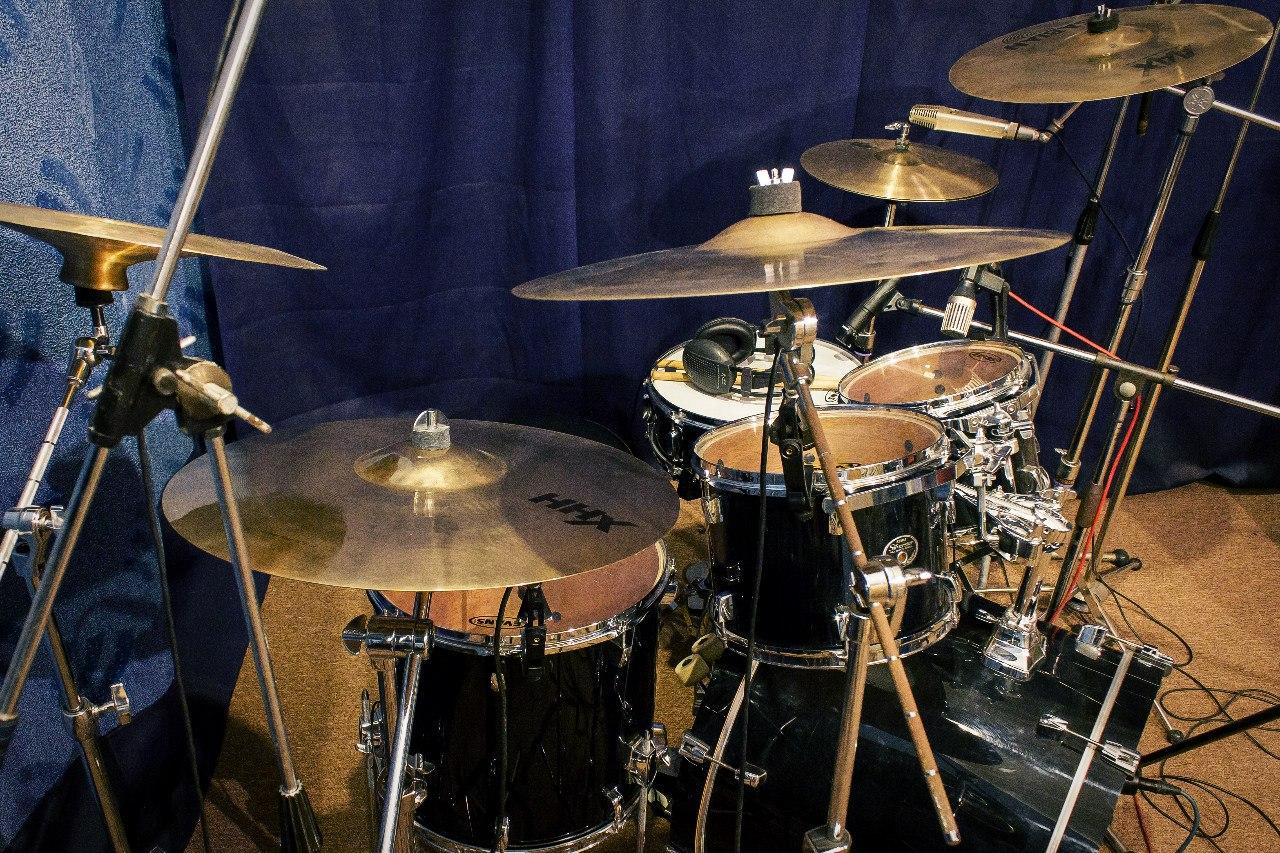 Tama Silverstar birch drumset