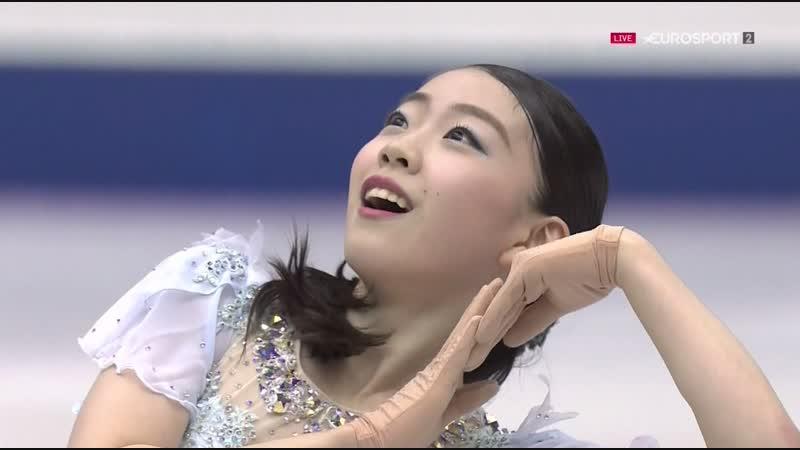 NHK Trophy 2018. Ladies - SР. Rika KIHIRA