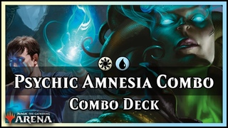 Psychic Amnesia MILL Combo Deck | Guilds of Ravnica Standard Magic / Arena