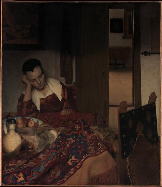 Ян Вермеер Дельфтский (Jan Vermeer van Delft) 1632 -1675.