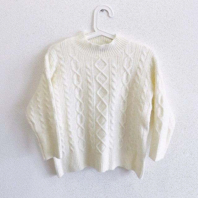 Белый свитер Rugod