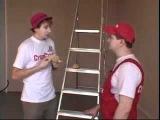12. Монтаж реечного потолка