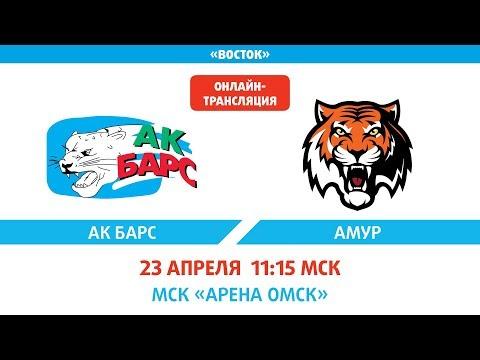 XII Кубок Газпром нефти. 5-6 место. Ак Барс - Амур 4:2